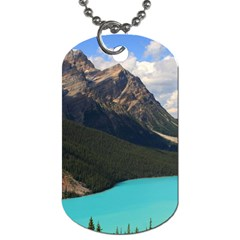 Banff National Park 3 Dog Tag (one Side) by trendistuff