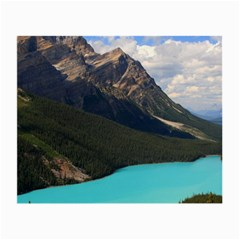 Banff National Park 3 Small Glasses Cloth by trendistuff