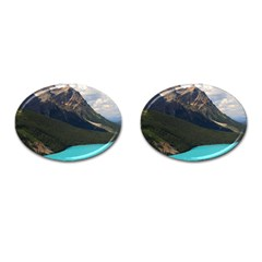 Banff National Park 3 Cufflinks (oval) by trendistuff