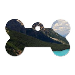 Banff National Park 3 Dog Tag Bone (two Sides) by trendistuff