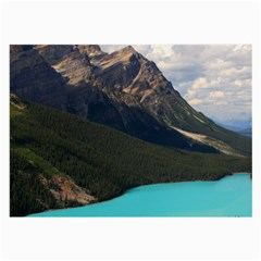 Banff National Park 3 Large Glasses Cloth by trendistuff