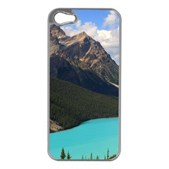 Banff National Park 3 Apple Iphone 5 Case (silver) by trendistuff