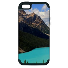 Banff National Park 3 Apple Iphone 5 Hardshell Case (pc+silicone) by trendistuff