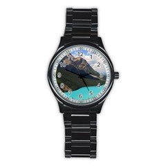 Banff National Park 3 Stainless Steel Round Watches by trendistuff