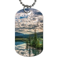 Banff National Park 2 Dog Tag (two Sides) by trendistuff