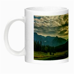 Banff National Park 2 Night Luminous Mugs by trendistuff