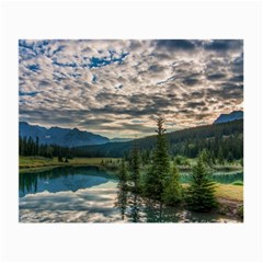 Banff National Park 2 Small Glasses Cloth (2 Side) by trendistuff