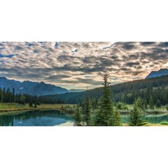 Banff National Park 2 You Are Invited 3d Greeting Card (8x4)