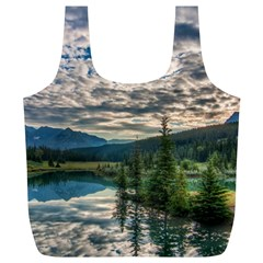 Banff National Park 2 Full Print Recycle Bags (l)  by trendistuff