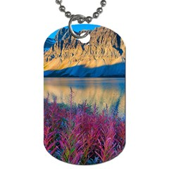 Banff National Park 1 Dog Tag (one Side) by trendistuff