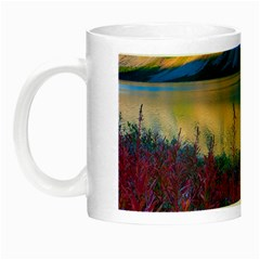 Banff National Park 1 Night Luminous Mugs by trendistuff