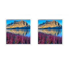 Banff National Park 1 Cufflinks (square) by trendistuff