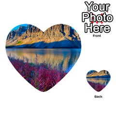 Banff National Park 1 Multi Purpose Cards (heart)  by trendistuff