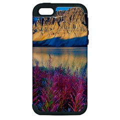 Banff National Park 1 Apple Iphone 5 Hardshell Case (pc+silicone) by trendistuff