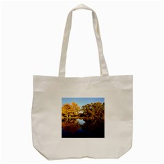 Autumn Lake Tote Bag (cream)  by trendistuff