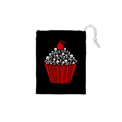Skull Cupcake Drawstring Pouch (xs)