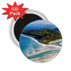 WHITEHAVEN BEACH 1 2.25  Magnets (100 pack)  by trendistuff