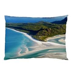 Whitehaven Beach 1 Pillow Cases by trendistuff