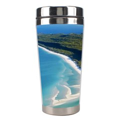 Whitehaven Beach 1 Stainless Steel Travel Tumblers by trendistuff