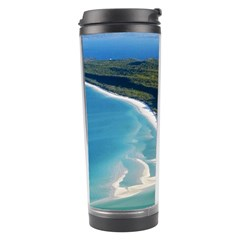 Whitehaven Beach 1 Travel Tumblers by trendistuff