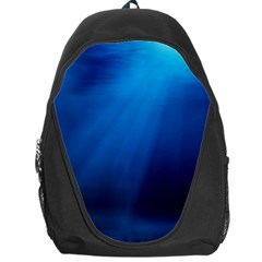 UNDERWATER SUNLIGHT Backpack Bag by trendistuff