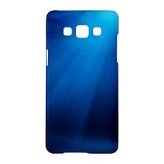 Underwater Sunlight Samsung Galaxy A5 Hardshell Case  by trendistuff