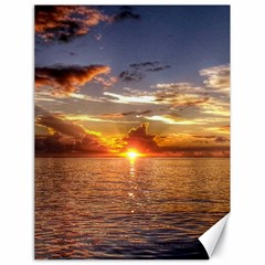 TAHITIAN SUNSET Canvas 18  x 24   by trendistuff