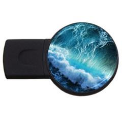STORM WAVES USB Flash Drive Round (2 GB)  by trendistuff