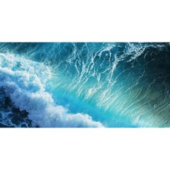 Storm Waves You Are Invited 3d Greeting Card (8x4)  by trendistuff