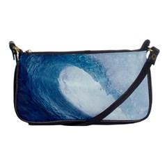 Ocean Wave 2 Shoulder Clutch Bags by trendistuff