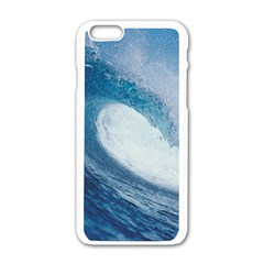 Ocean Wave 2 Apple Iphone 6/6s White Enamel Case by trendistuff