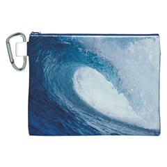 Ocean Wave 2 Canvas Cosmetic Bag (xxl)  by trendistuff