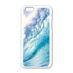 Ocean Wave 1 Apple Iphone 6/6s White Enamel Case by trendistuff