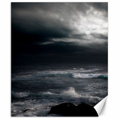 Ocean Storm Canvas 20  X 24   by trendistuff