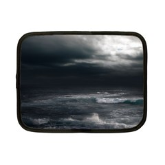 Ocean Storm Netbook Case (small)  by trendistuff