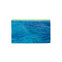 Ocean Island Cosmetic Bag (xs) by trendistuff