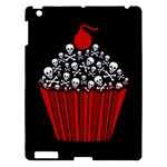 Skull Cupcake Apple iPad 3/4 Hardshell Case