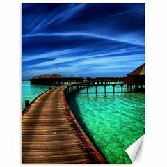 MALDIVES 2 Canvas 18  x 24   by trendistuff