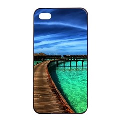 Maldives 2 Apple Iphone 4/4s Seamless Case (black) by trendistuff