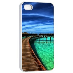 Maldives 2 Apple Iphone 4/4s Seamless Case (white) by trendistuff