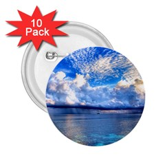 Maldives 1 2 25  Buttons (10 Pack)  by trendistuff
