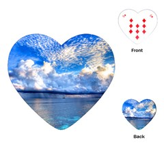 MALDIVES 1 Playing Cards (Heart)  by trendistuff