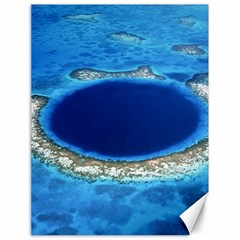 Great Blue Hole 2 Canvas 18  X 24   by trendistuff