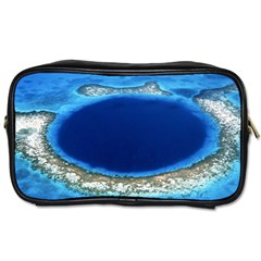 Great Blue Hole 2 Toiletries Bags 2 Side by trendistuff
