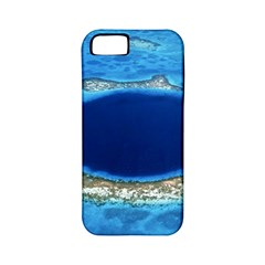 Great Blue Hole 2 Apple Iphone 5 Classic Hardshell Case (pc+silicone) by trendistuff