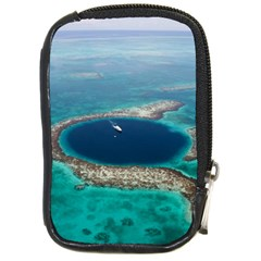 Great Blue Hole 1 Compact Camera Cases by trendistuff