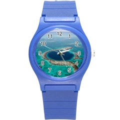 Great Blue Hole 1 Round Plastic Sport Watch (s) by trendistuff