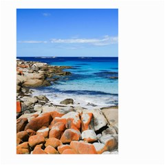 Bay Of Fires Large Garden Flag (two Sides) by trendistuff