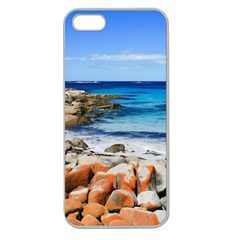 Bay Of Fires Apple Seamless Iphone 5 Case (clear) by trendistuff