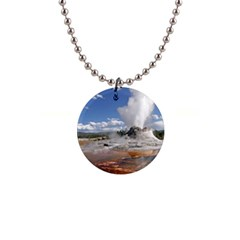 Yellowstone Castle Button Necklaces
